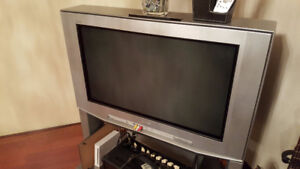 34 Inch Plasma TV With Stand