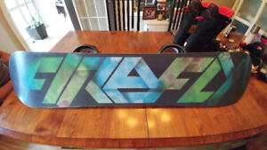 """49"""" Firefly Snowboard with Brand New Matching Bindings"""