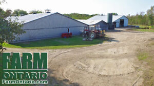 Perfect Starter Farm with Large Home in Mount Forest