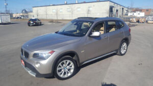 2012 BMW X1 , AWD , Leather,Glass roof, 3/Y warranty available