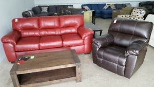 Couch and Chair Set (3 colors to choose) - Delivery Available