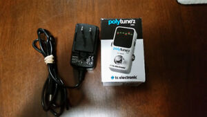 Polytune Mini 2 Digital Guitar/Bass Tuner (New w/AC Adapter)