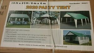 20' x 20' NEW PARTY TENT $800