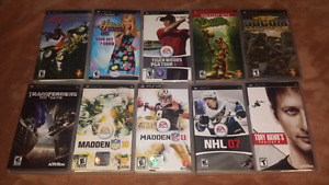 For sale, Sony psp games bundle. still available till get sold!