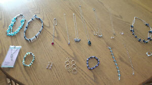 Rings, Necklaces, Earrings and Bracelets
