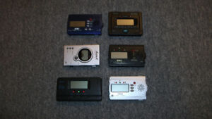 Lot of Six Guitar Tuners--All for $50