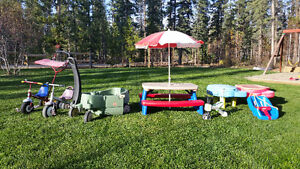 Variety of Outdoor Play Items