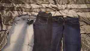 Ladies jeans size 7,10,13