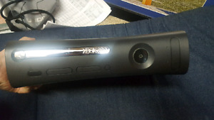 Black Xbox 360 in Great condition, all cords & 1 controller!