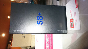 SAMSUNG GALAXY S8PLUS FROM FROM ROGERS gray  with 1yr warrantee.