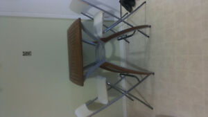 Counter Height Table and 2 Chairs London Ontario image 1