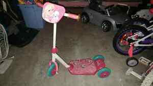 Barbie 3 Wheel Scooter