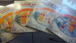 4 Winnie The Pooh And His Friends, Walt Disney, Board Books 1994 Kitchener / Waterloo Kitchener Area image 1