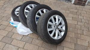 "Summer tires 16"" on Mags Yokahama Avid Ascend 205/55R16"