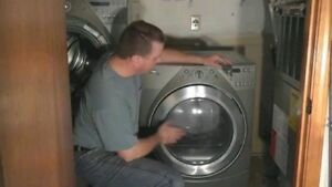 repair washer and dryer 40 to come and assess in hrm