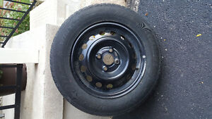 NEW PRICE - 4 Winter Tires WITH Rims Cambridge Kitchener Area image 1