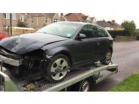 Audi A3 1.9 Tdi Se 2007 07 spares or repairs