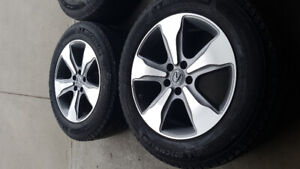 winter tires rims for 2015 acura mdx