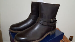 Polo Ralph Lauren Men Mersey Pull-On Leather Boots