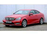 2015 MERCEDES C-CLASS C180 AMG Sport Edition 2dr Auto Coupe petrol Automatic