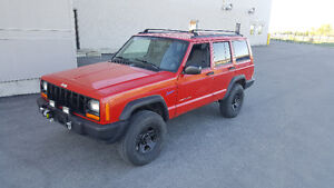 1998 Jeep Cherokee 4x4 e tested and saftied!