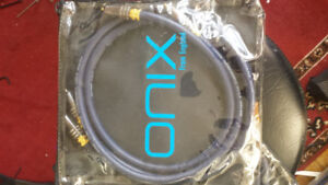 Onix Blue audiophile RCA interconnects