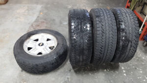 """18"""" winter rims and tires"""