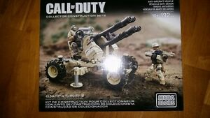Mega Bloks Call of Duty Anti-Aircraft Vehicle 192 PCS