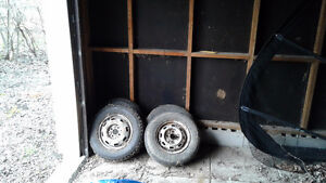 """2 12"""" and 2 13"""" Snow Tires"""