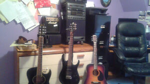 Guitarist looking for other guitarist or drummer to jam with Peterborough Peterborough Area image 1