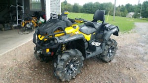 2014 Can am Outlander 1000 Xmr