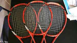 3x Yonex Vcore Tour G 330g Wawrinka (trade for vcore duel 310)