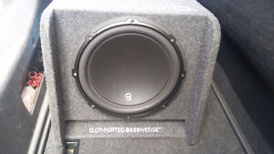 JL Audio 12W3v3-4 With BassWedge Ported Box
