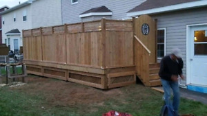 Custom Carpentry 35 Years Experience Decks & Fencing