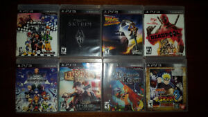 55 PS3 Games, 1 Vita Game & 4 PS4 Games SONY