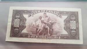 PAPER MONEY -  BANK of CANADA first issue