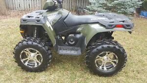 "2011 Polaris 800 Sportsman 302kms New Condition 28"" wheels,"