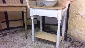 Pine Washstand/ Microwave Hutch