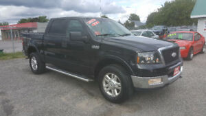 2005 FORD F150 SuperCrew 4X4 *** FULLY LOADED *** CERT $7995