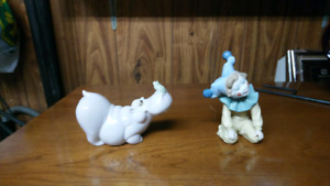 Two peices of nao lladro