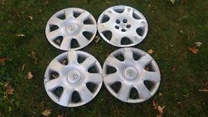 "4 Caps de roues 15"""