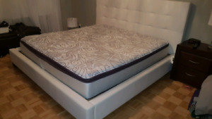 Matelas king size Beautyrest Napa Valley II