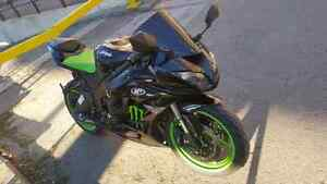2009 ZX6R Monster Energy Edition, Rare!