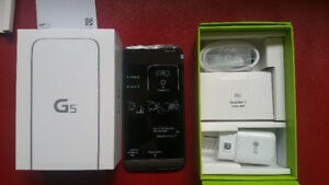 LG G5 UNLOCKED ALL CARRIERS Never Used in box 32GB