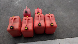 Gas Containers 5 Gal and 2 Gal