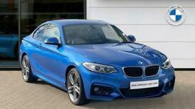 image for 2017 BMW 2 Series 220d xDrive Sport 2dr [Nav] Step Auto Diesel Coupe Coupe Diese
