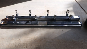 Use running boards for a 2011 Silverado ...don't want anymore