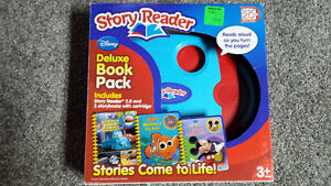 Disney Story Reader Deluxe Book Pack - Excellent Condition