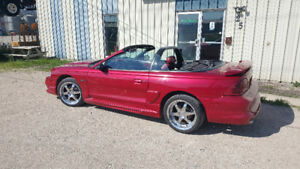 SAFETIED Ford Mustang GT Convertible - trade for quads
