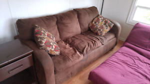 Couch with 2 Cushions for Sale